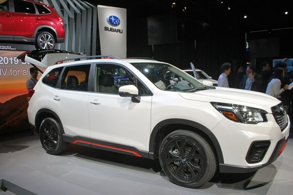 Subaru Forester 2019S Review and Specs