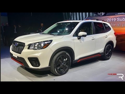 New Subaru Forester 2019S First Drive