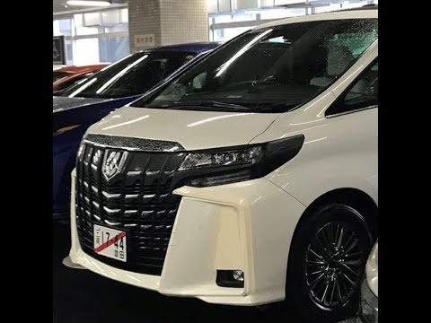 The Toyota Alphard 2019 Picture