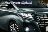New Toyota Alphard 2019 First Drive