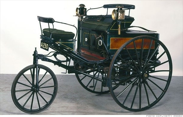 1886: The First Patented Automobile